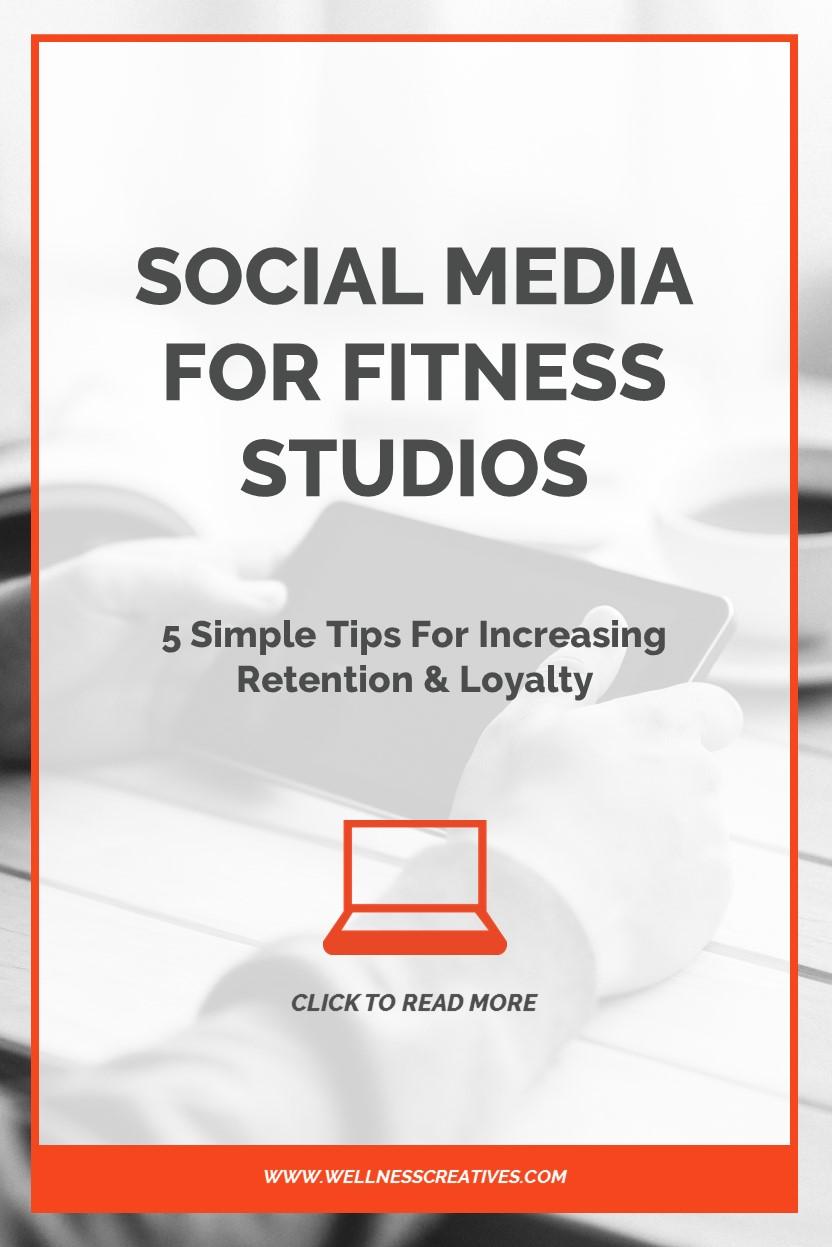Gym Social Media Tips Retention Pinterest