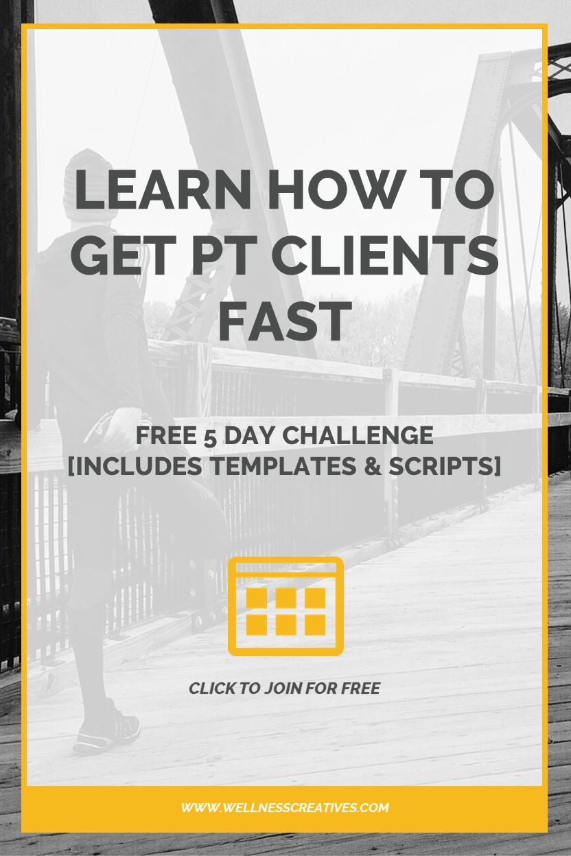 How to get personal training clients fast free 5 day challenge how to get personal training clients fast pinterest xflitez Images