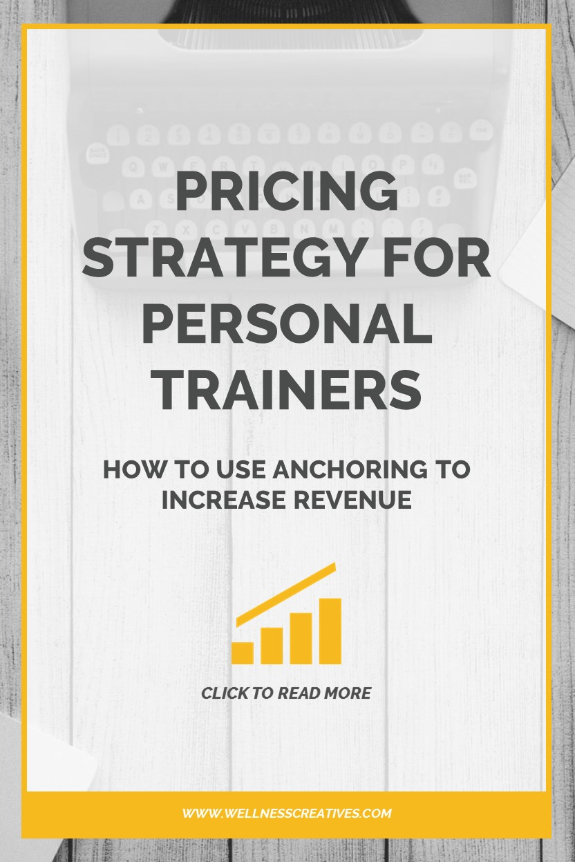 Personal Trainer Pricing Strategy Pinterest