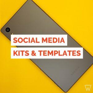 Social Media Templates Tile