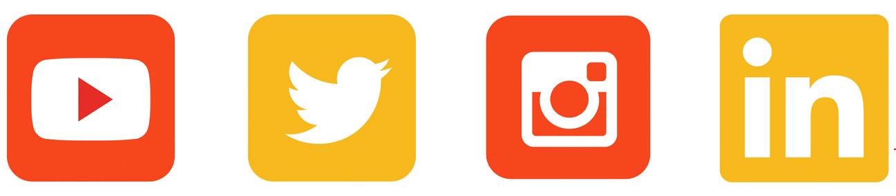 Fitness Marketing Social Media Icons