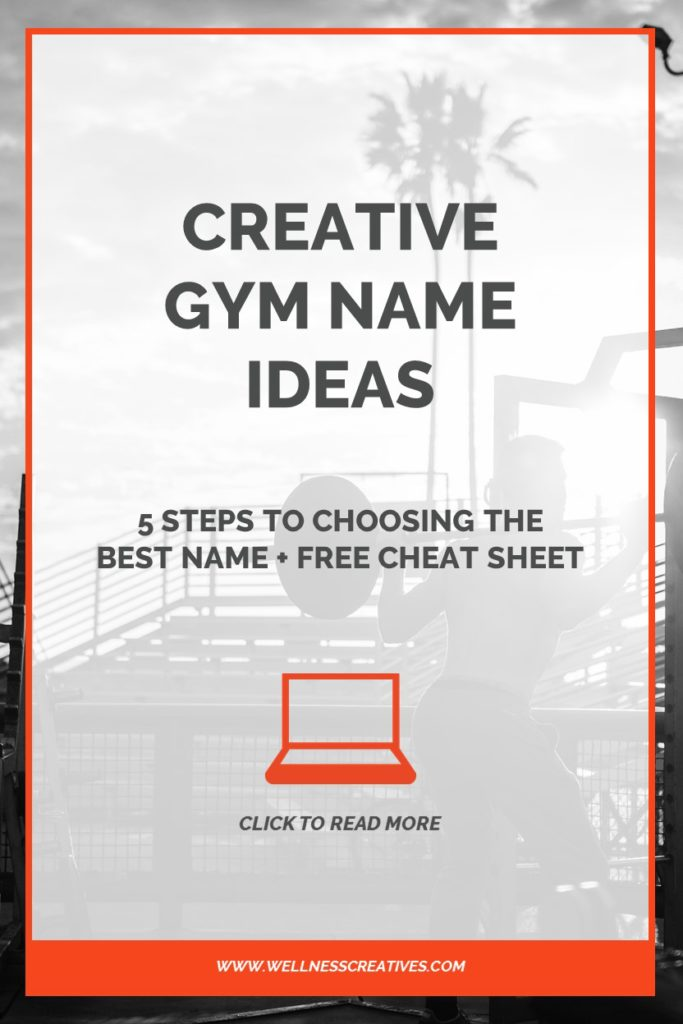 Gym Name Ideas Pinterest