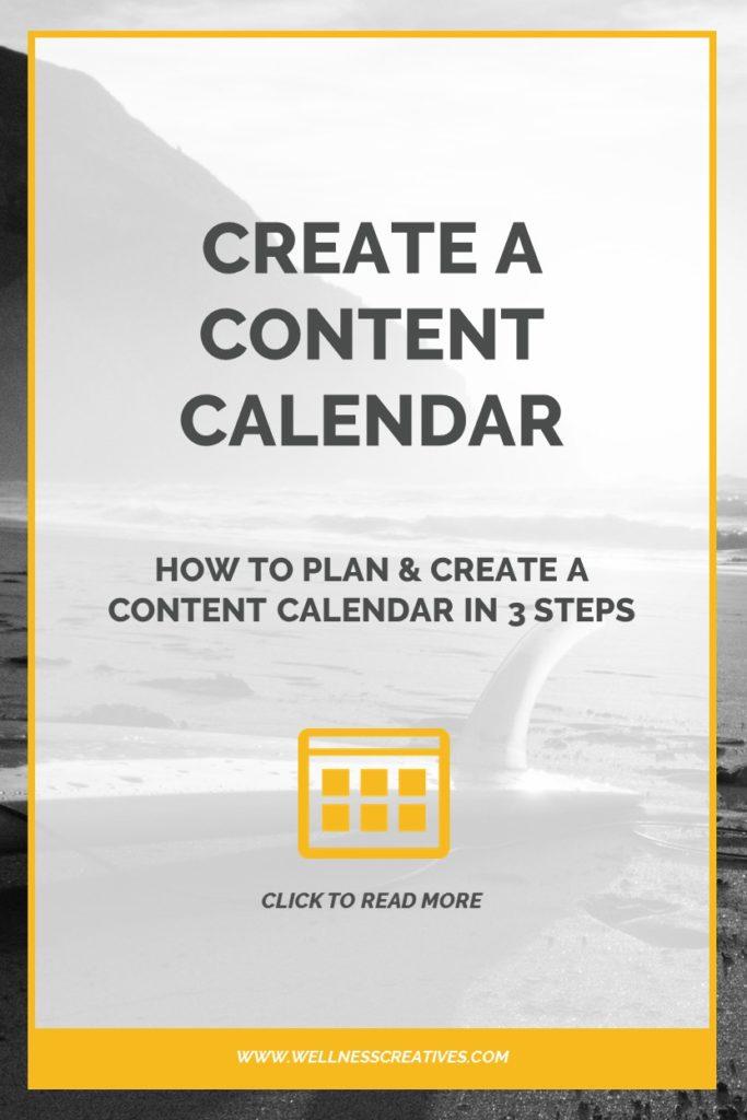 Content Calendar Pinterest