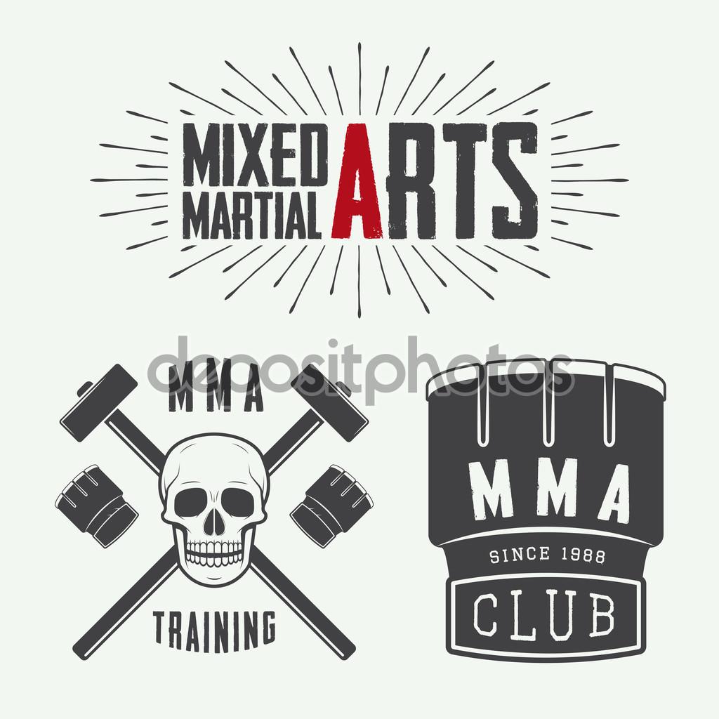 Fitness Logo MMA