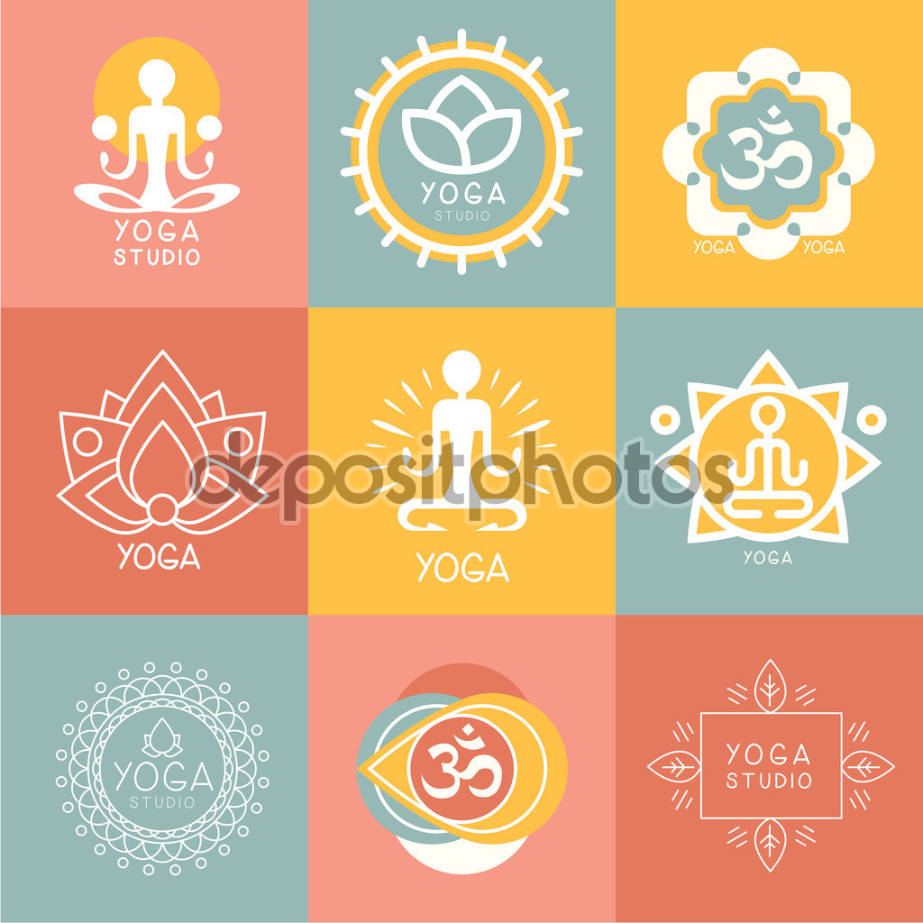 130 Yoga Logo Design Ideas For Studios Classes Retreats