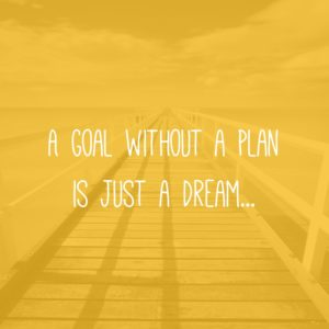 Goal Without A Plan Quote
