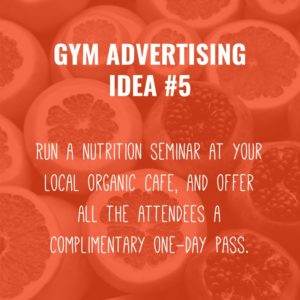 Gym Advertising Ideas #2