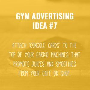 Gym Advertising Ideas #7