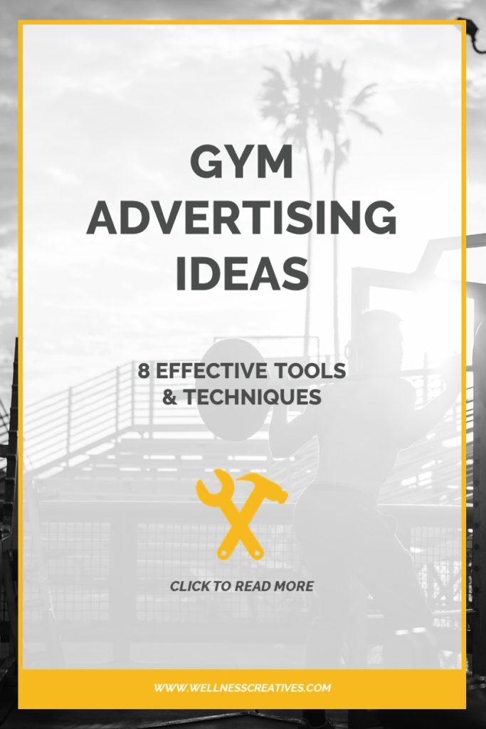 Gym Advertising Ideas Pinterest New