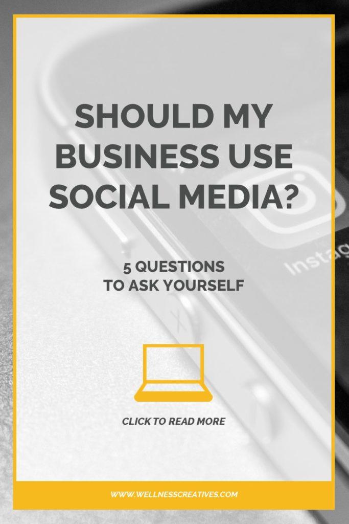 Should My Business Use Social Media Pinterest