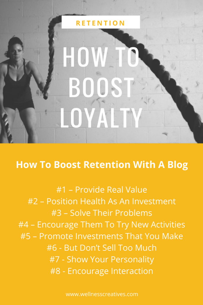 How To Boost Loyalty Blog Pinterest
