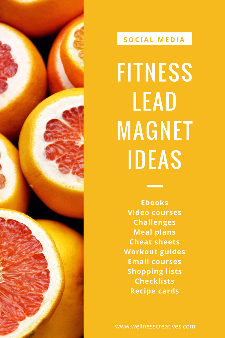 Fitness Lead Magnet Ideas Pinterest