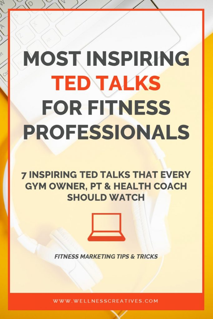 TED Talks For Gym Owners Pinterest