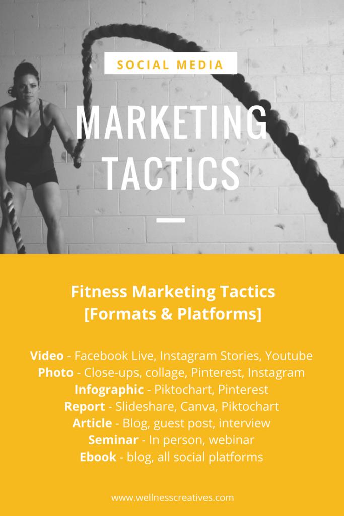 Fitness Marketing Strategies Format Ideas