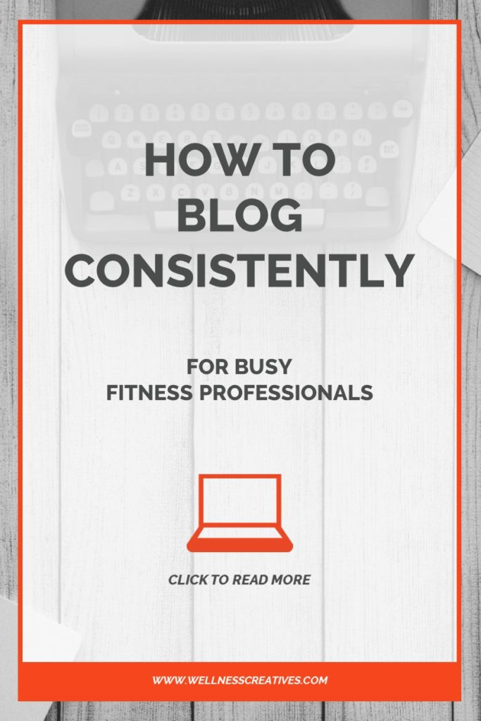 How To Blog Consistently Pinterest New