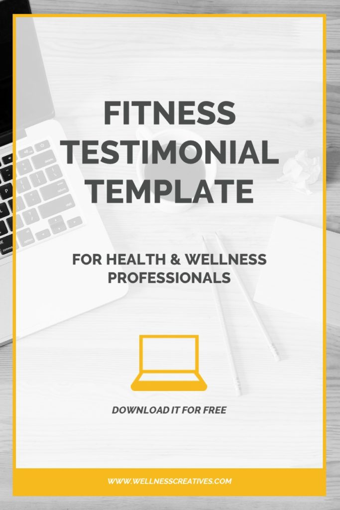 fitness testimonials how to write a fitness testimonial pdf template