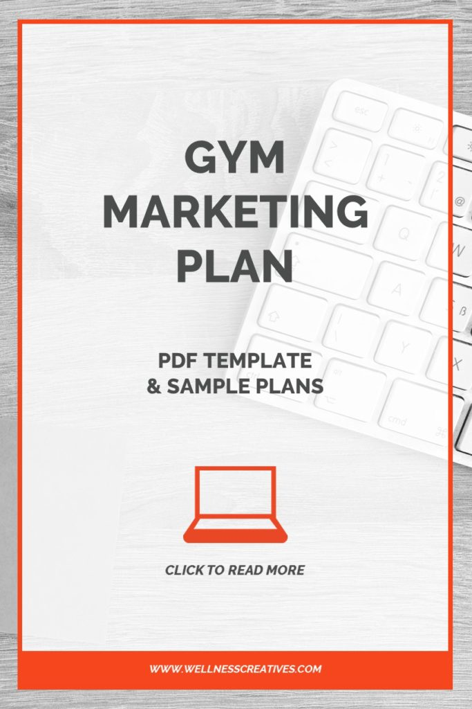 Gym Marketing Plan Pdf Template  Sample Plans