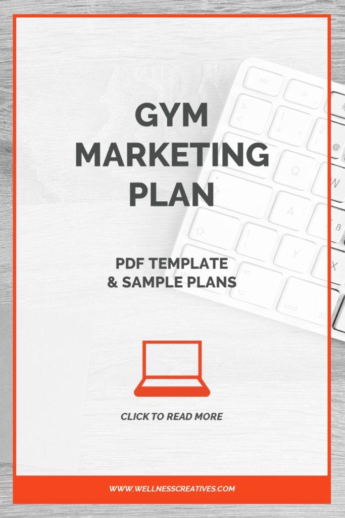 Gym Marketing Plan PDF Pinterest