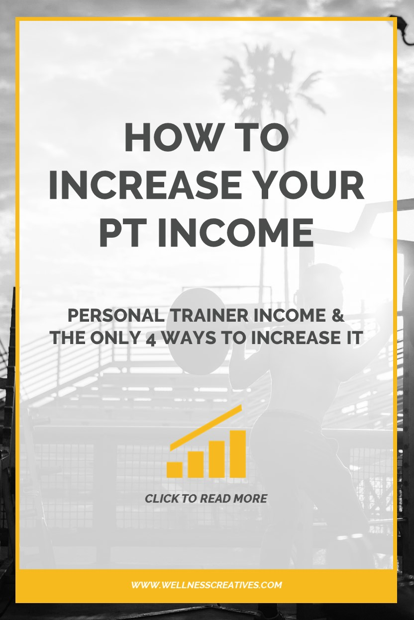 Personal Trainer Income Pinterest