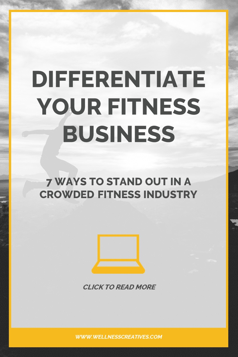 Stand Out Crowded Fitness Industry Pinterest