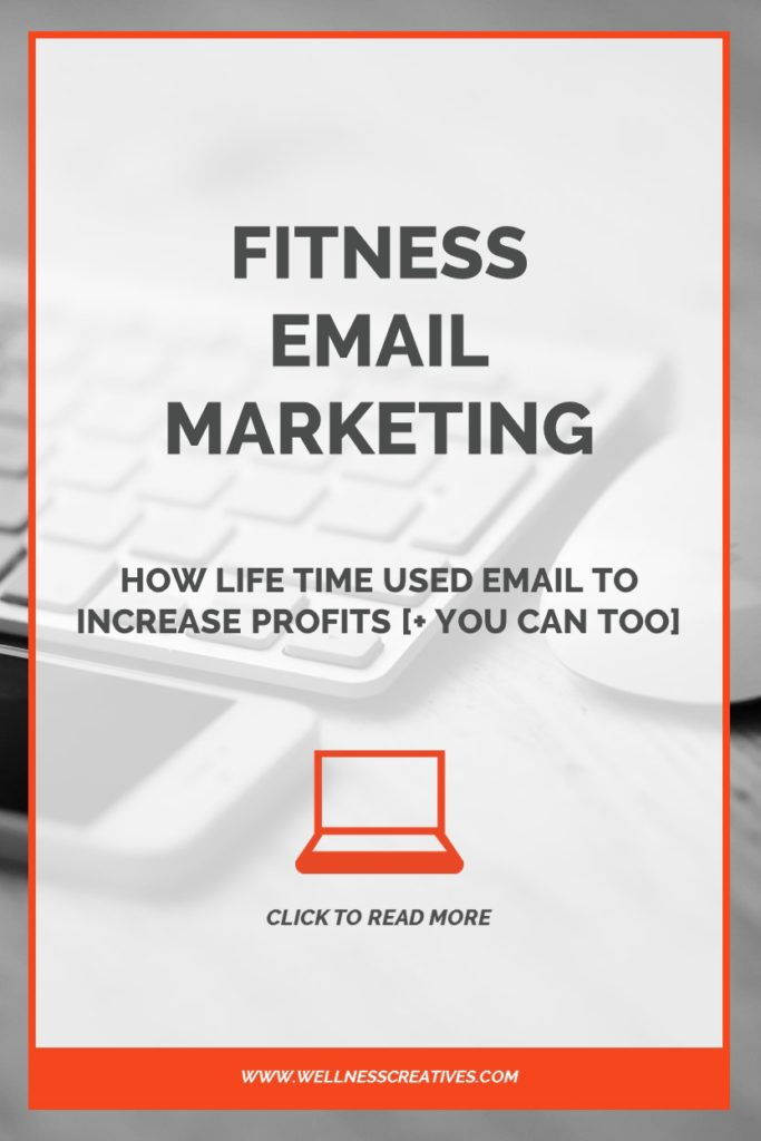 Fitness Email Marketing Pinterest