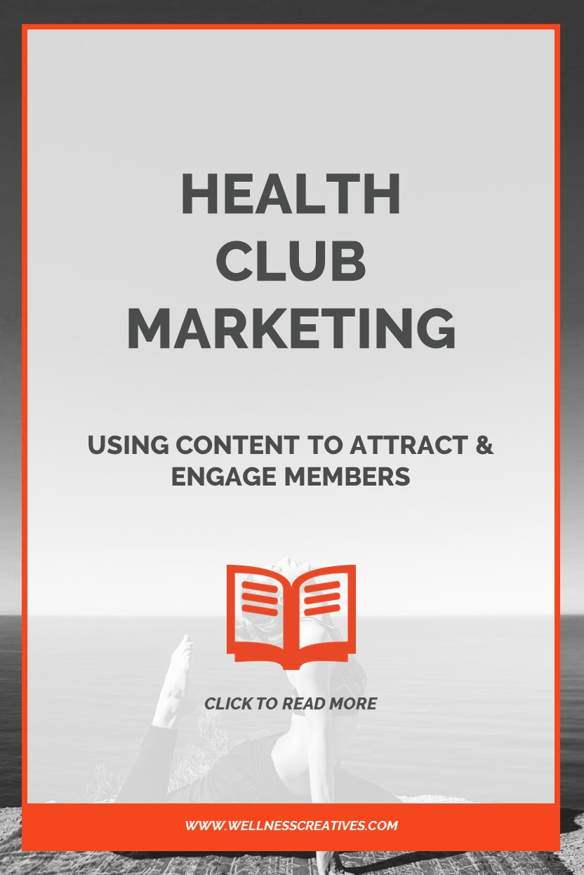Health Club Marketing Content Pinterest
