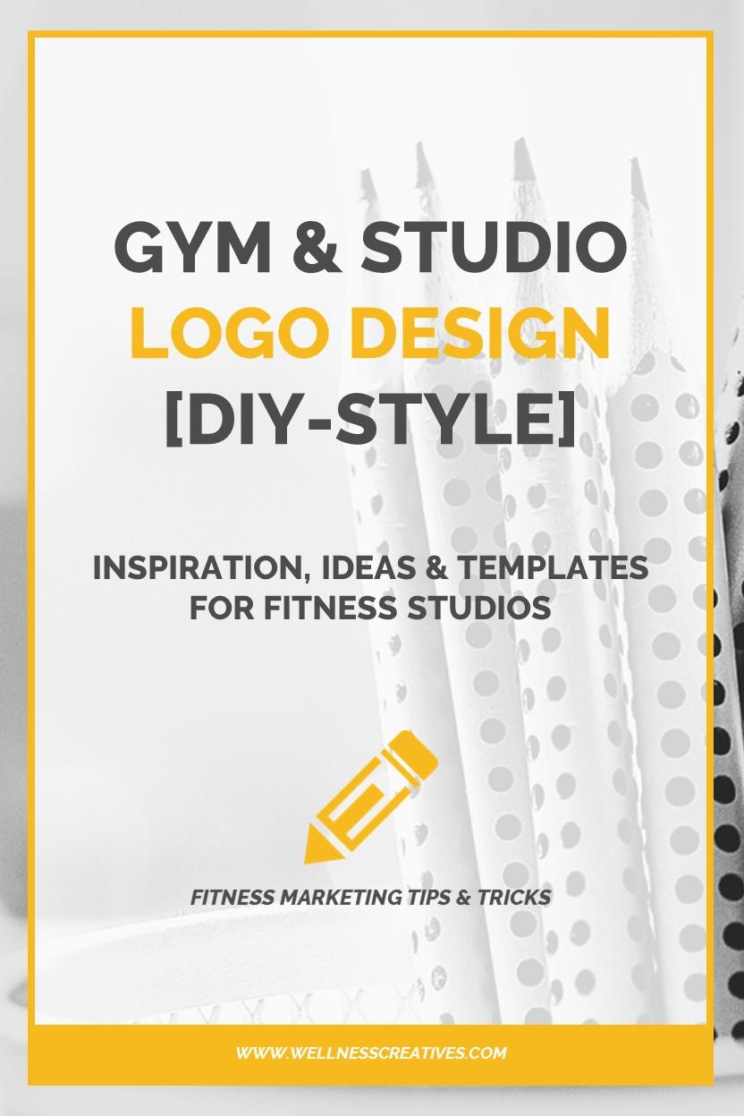 Gym Logo Design Inspiration Pinterest