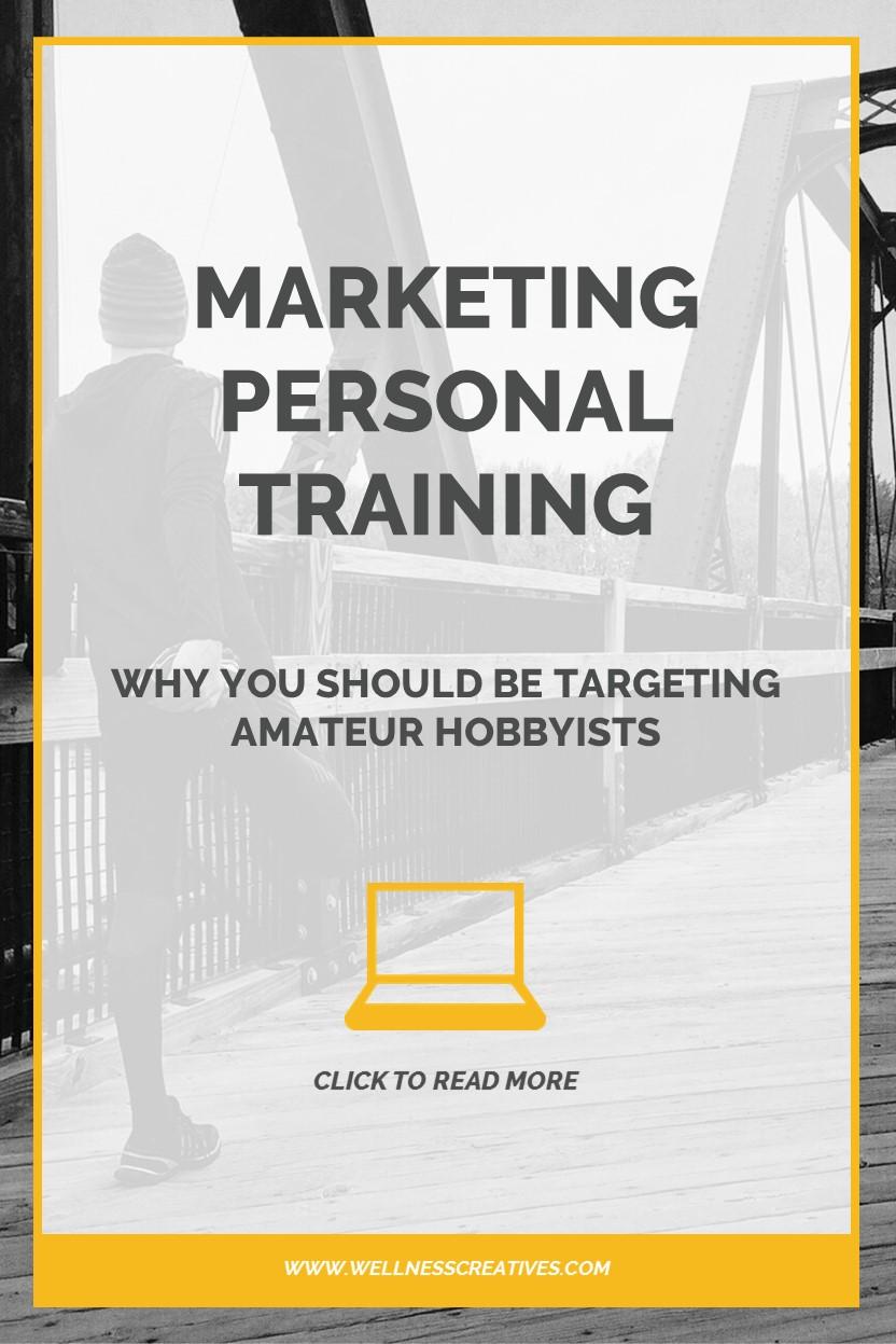Marketing Personal Training Hobbyists Pinterest