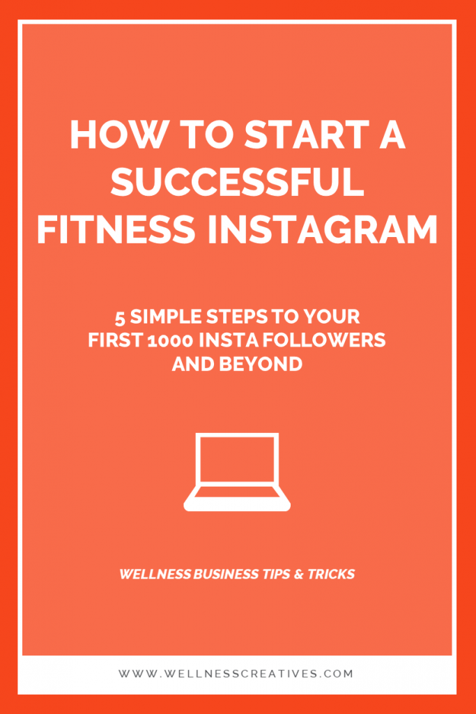 How To Start a Fitness Instagram Pinterest