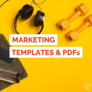 Fitness Marketing Templates PDFs Tile HR