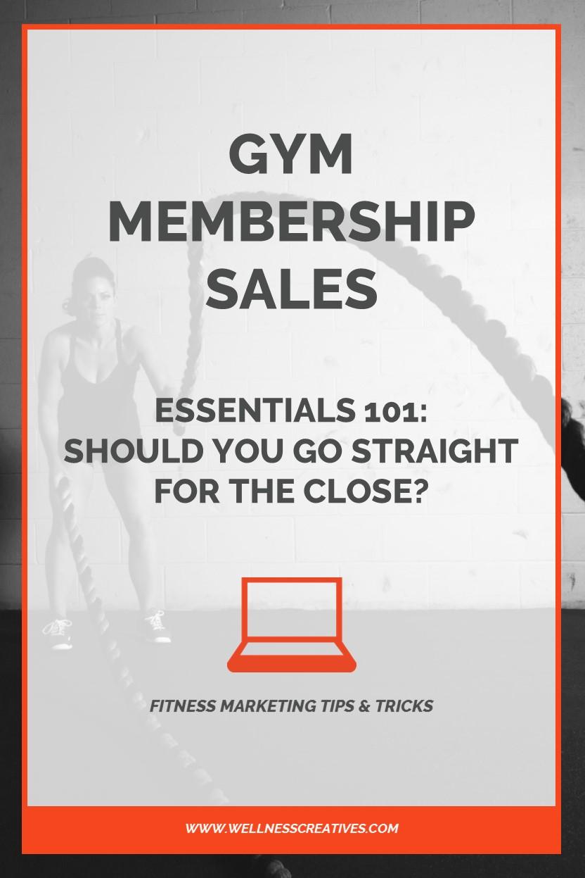 Membership Sales Essentials Pinterest