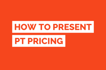 Personal Training Price Presenting