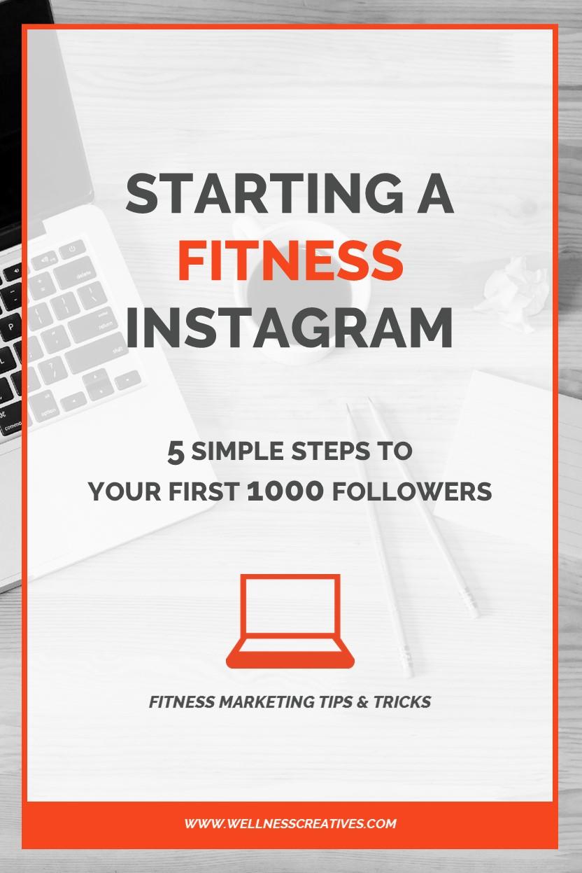 Starting A Fitness Instagram Pinterest
