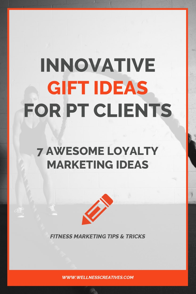 Gifts For Personal Training Clients Pinterest