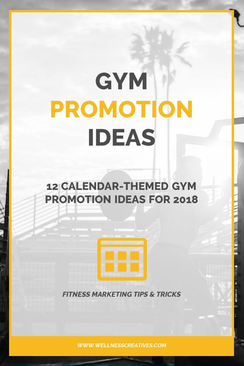 Gym Promotions Ideas Pinterest