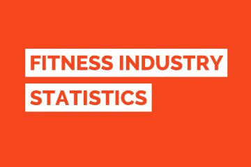 Fitness Industry Statistics Tile