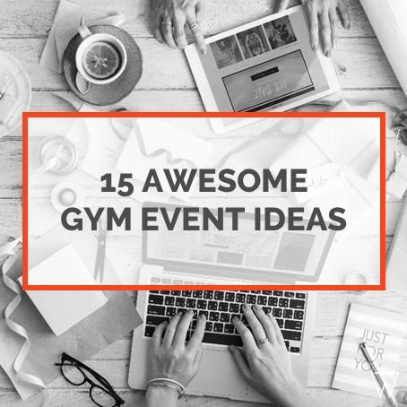 Gym Event Ideas Tile