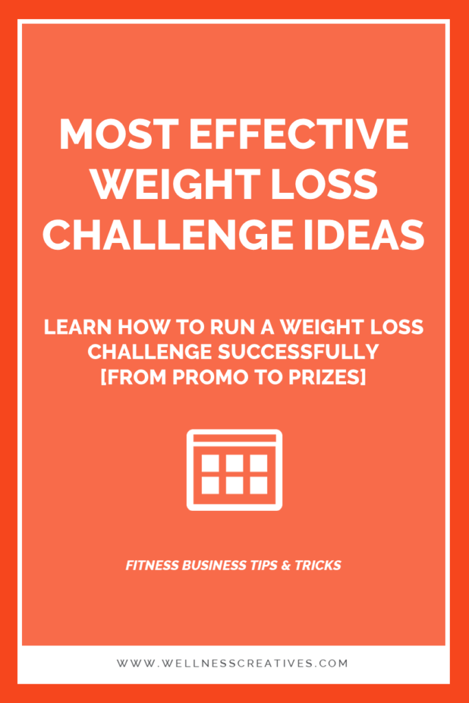 How To Run a Weight Loss Challenge