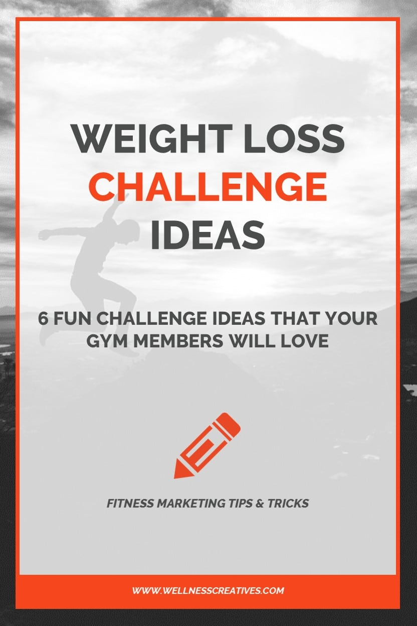 Weight Loss Challenge Ideas Pinterest