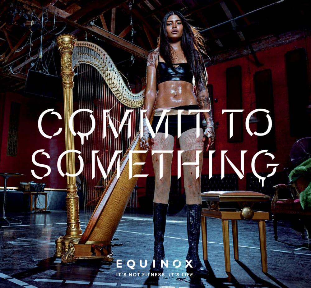Gym Advertisement Example Equinox Harp