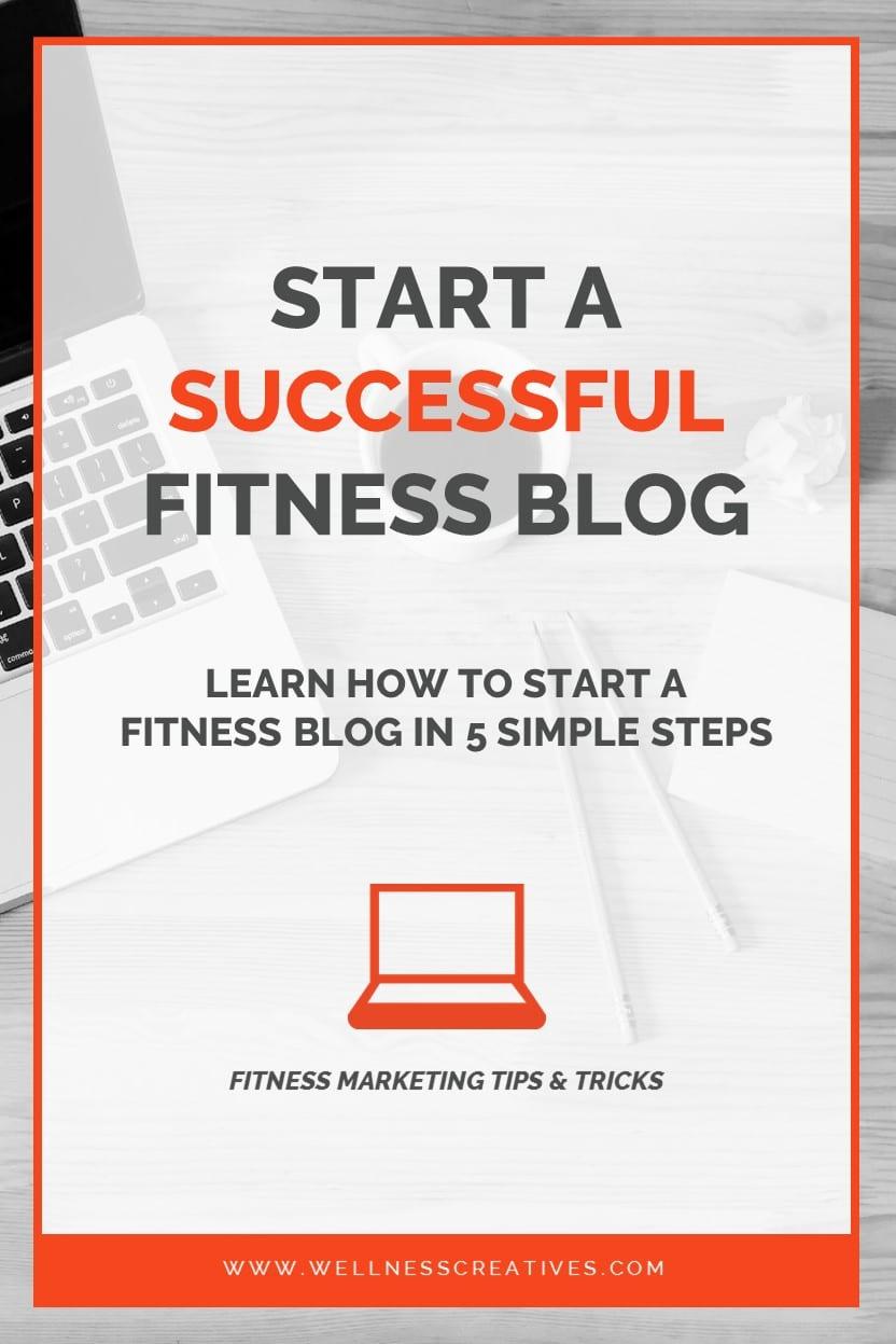 How To Start A Fitness Blog Pinterest