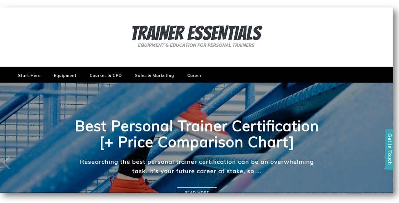 Trainer Essentials Fitness Blog