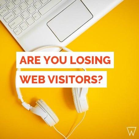 Losing Fitness Website Visitors Tile