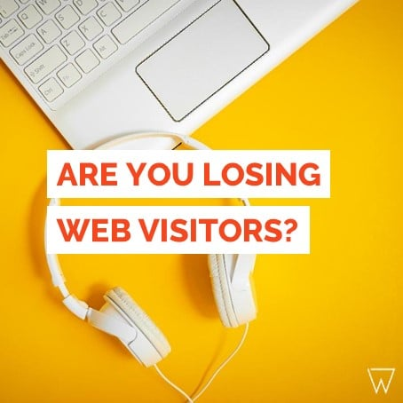 Losing Fitness Website Visitors Tile