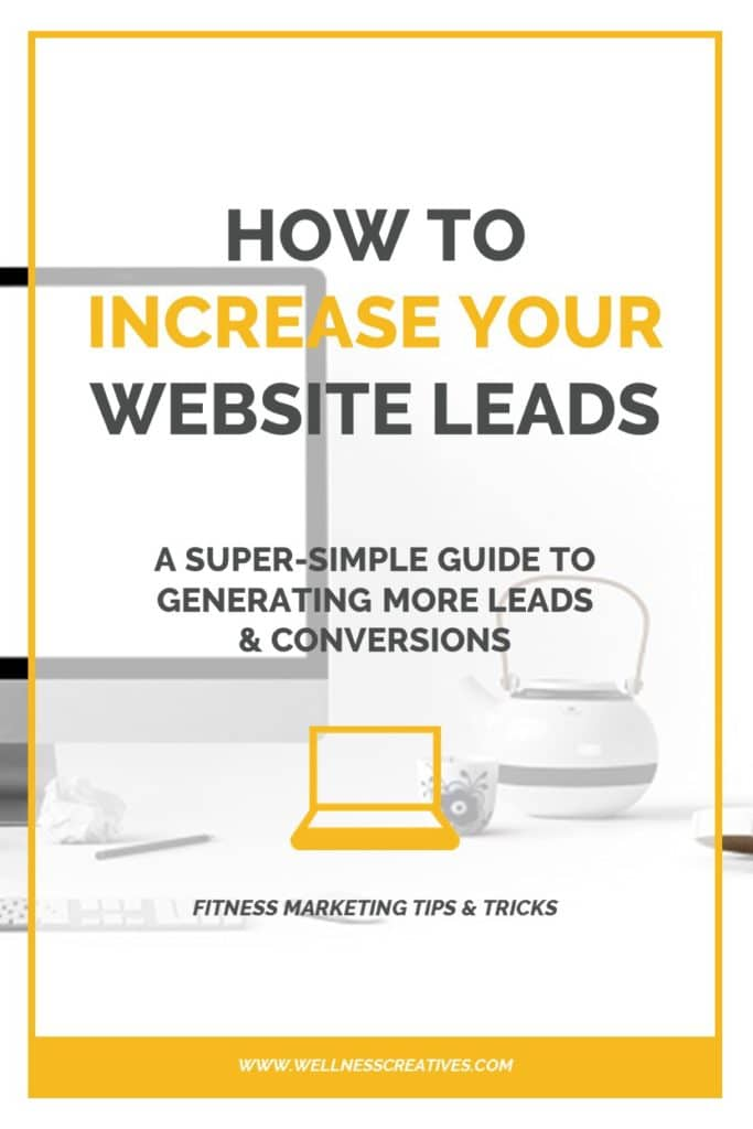 Increase Fitness Website Leads