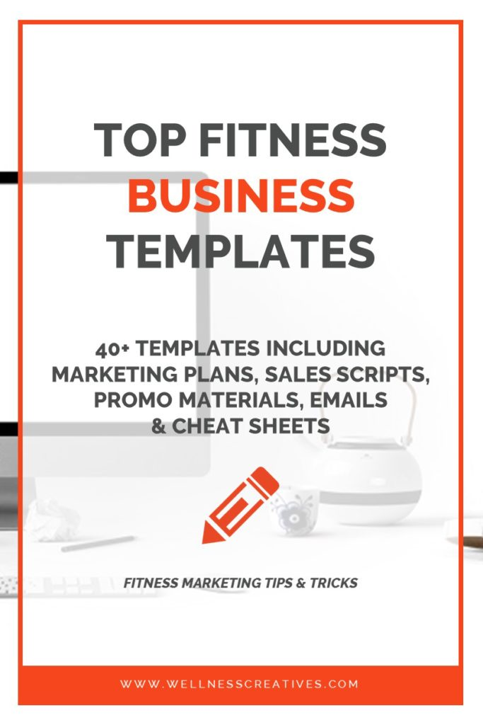 Fitness Business Templates Pinterest