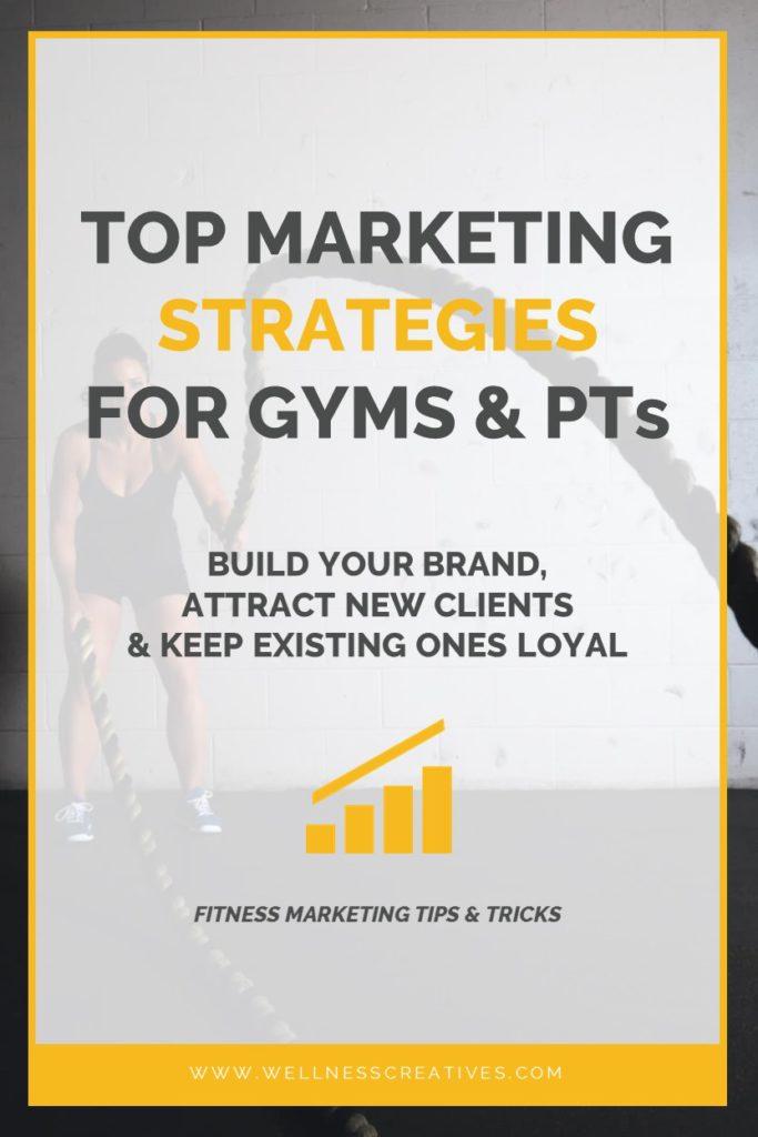 Fitness Marketing Strategies Pinterest