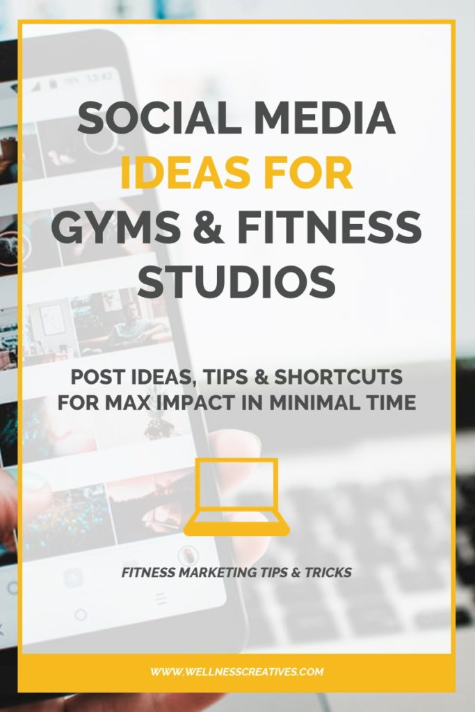 Fitness Social Media Ideas Pinterest