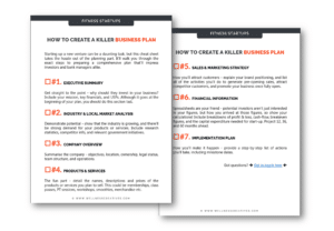 Gym Business Plan PDF Template
