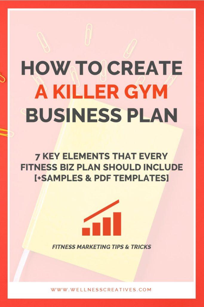 Gym Business Plan Essentials [+ Fitness Center Template ...